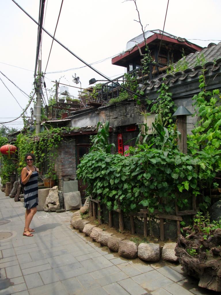 Behind Undeground City Beijing Stanito