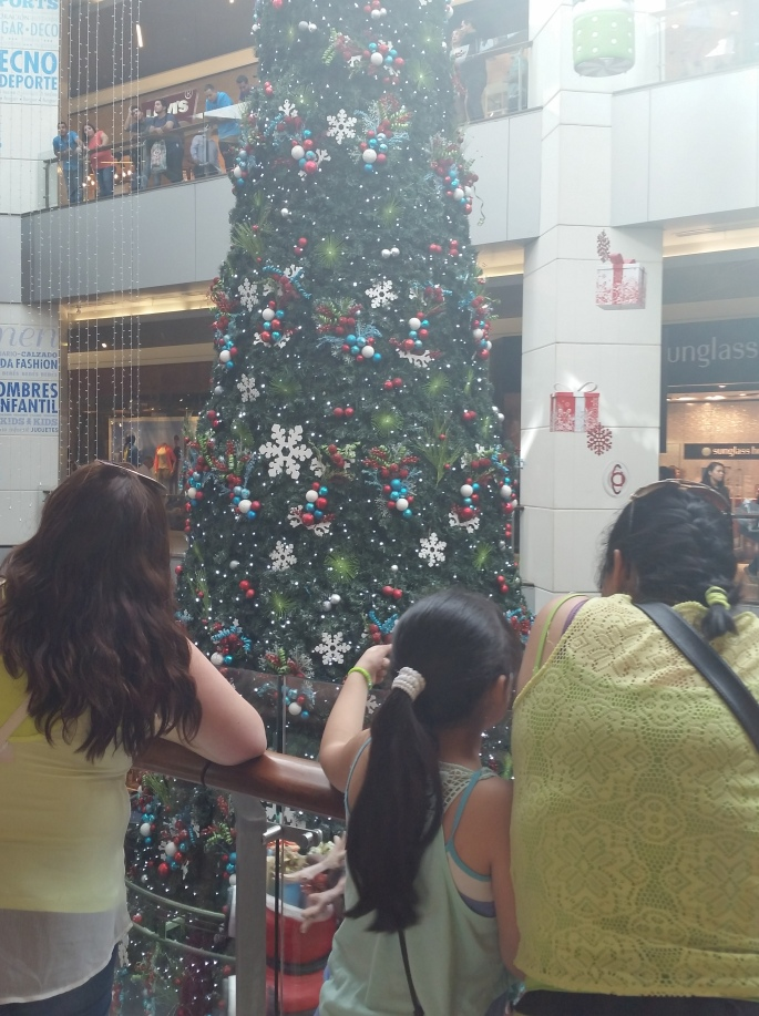 Chile mall Christmas tree Stanito