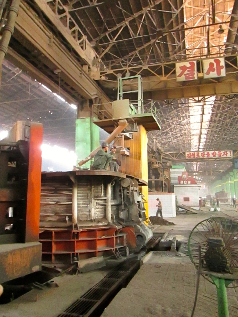 Chollima steel factory Stanito