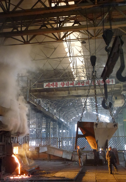 Chollima Steel work Nampo Stanito