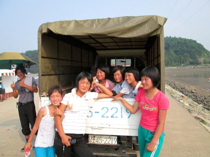 Namp'o North Korea beach Stanito 4