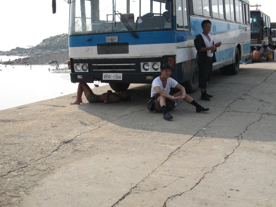 Namp'o North Korea beach Stanito 8
