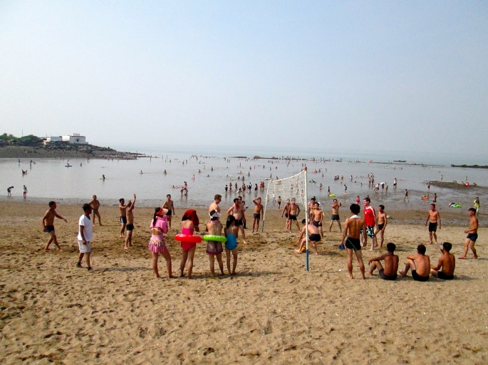 Namp'o North Korea beach Stanito
