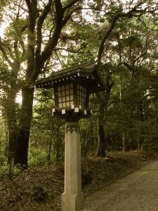 Shinto Temple lantern