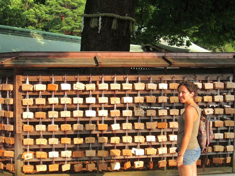 Stanito ema shinto temple