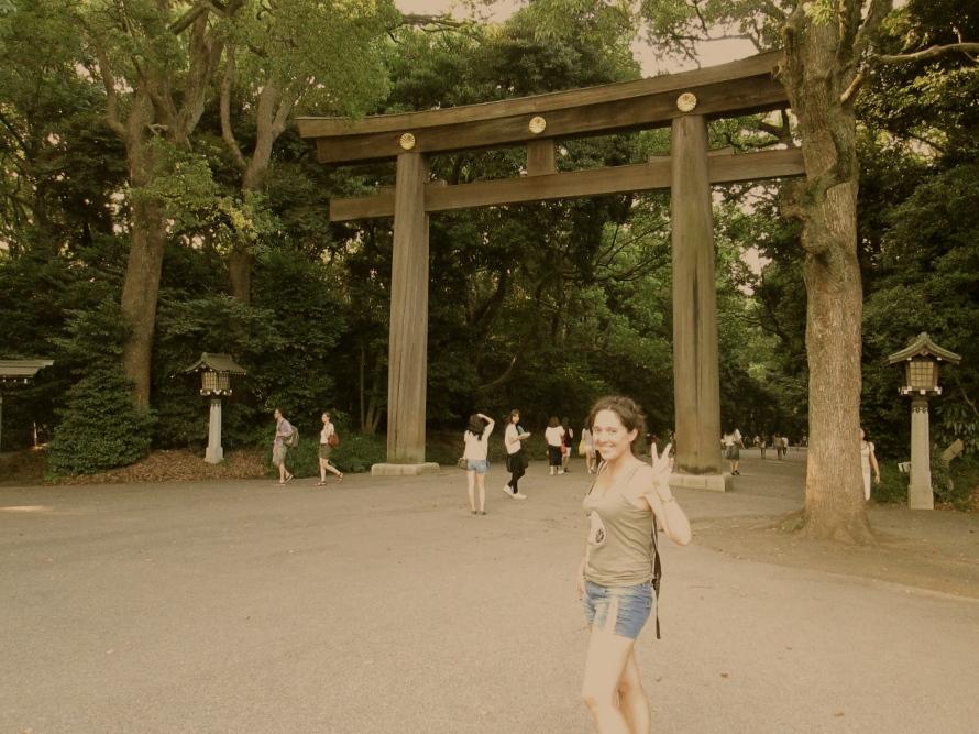 Stanito shinto temple torii