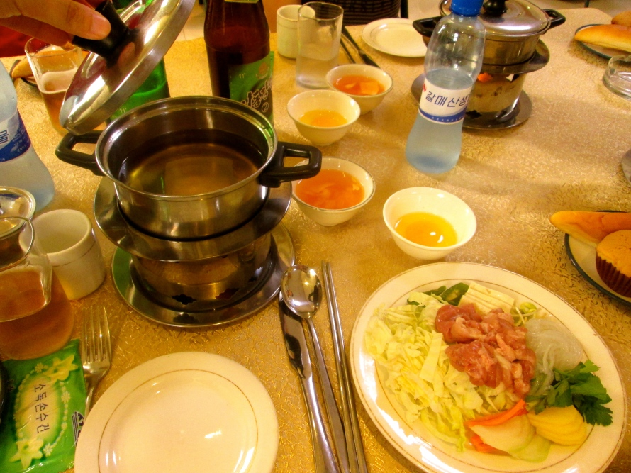Food in Pyongyang Stanito