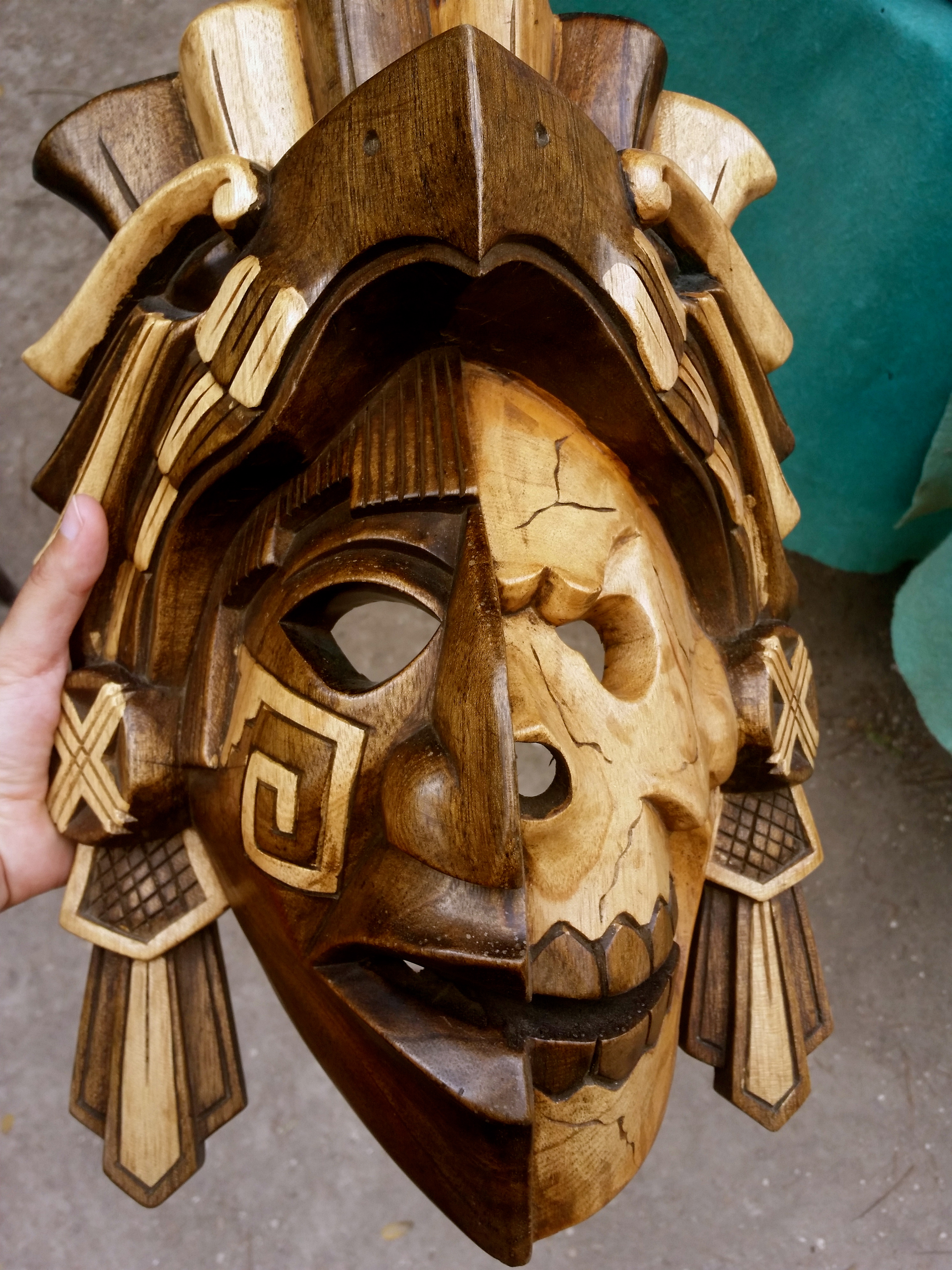 Photo of The Day: Mayan life and death mask