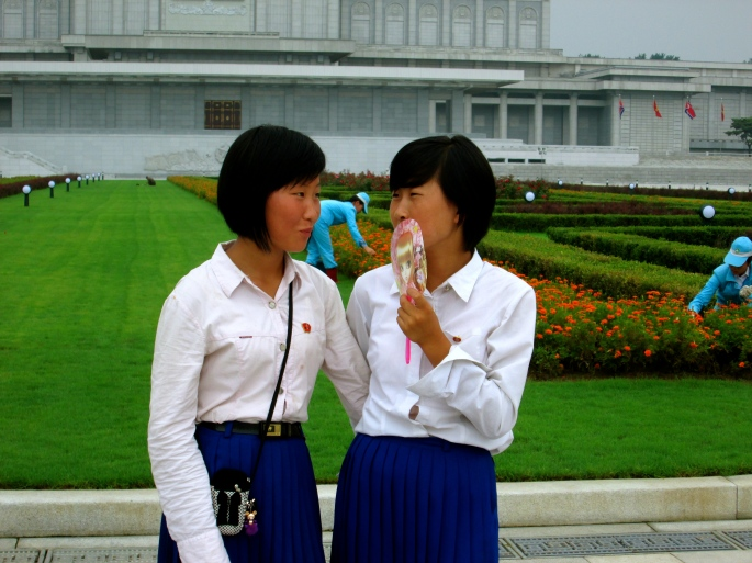 People in Pyongyang 1