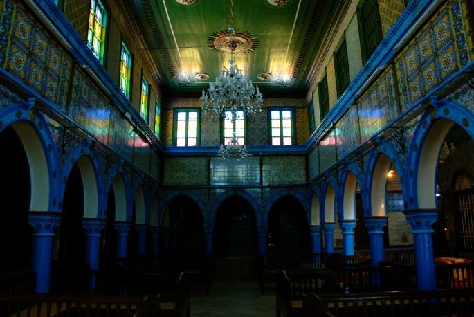 Inside Synagogue La Ghriba 1