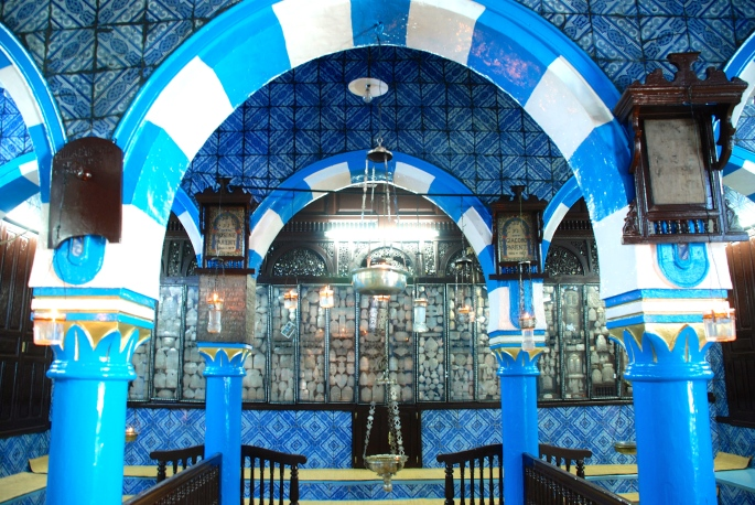 Inside Synagogue La Ghriba 2