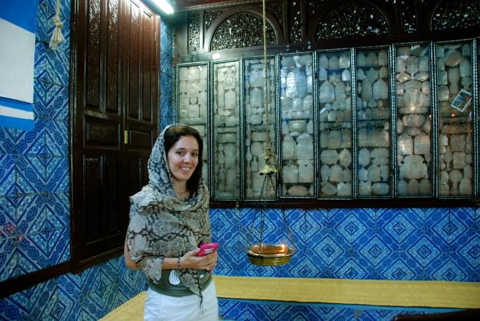Inside Synagogue La Ghriba 3