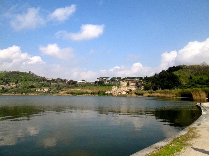 Lake Averno around