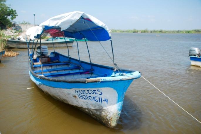 Arriving via water Mexcaltitan