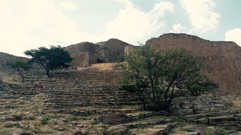 La Quemada Staircase Stanito
