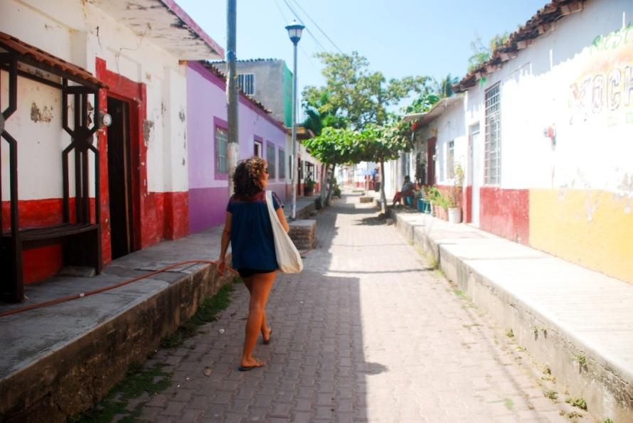 Mexcaltitan roads