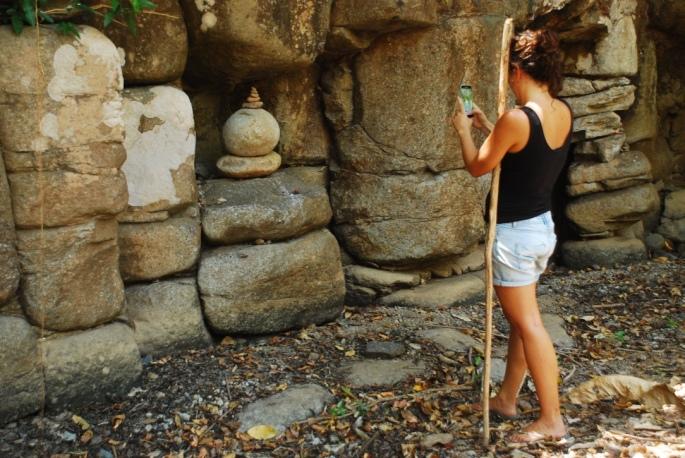 Ritual stones Petroglyphs Stanito 2