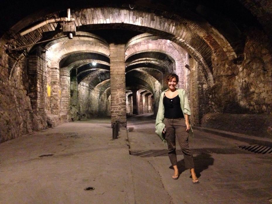 Stanito in Guanajuato tunnel