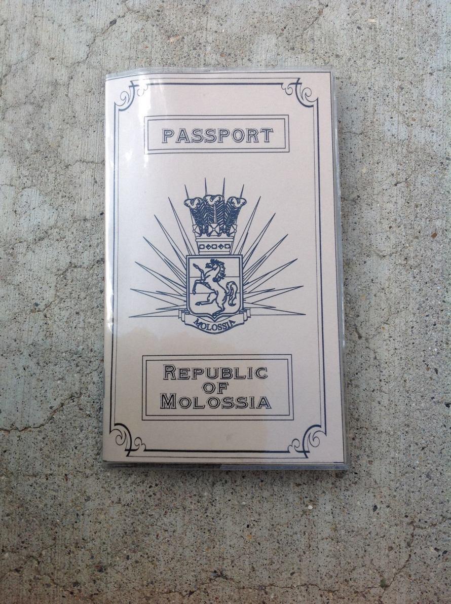 Molossia Passport Front Stanito