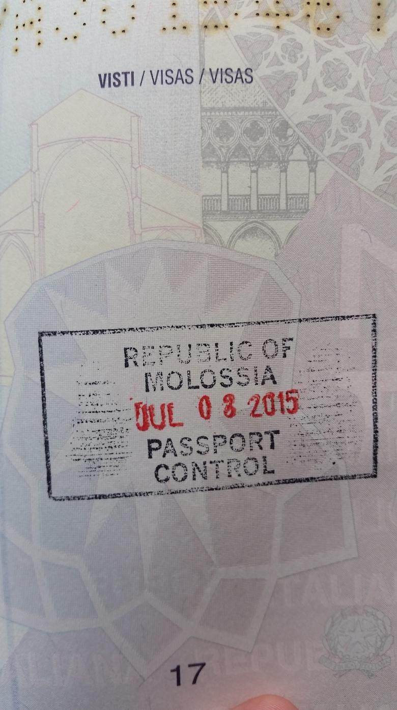 Molossia Passport Stamp Stanito