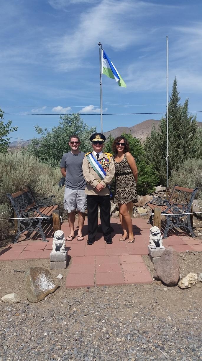 Molossia President Stanito Travel Buddy