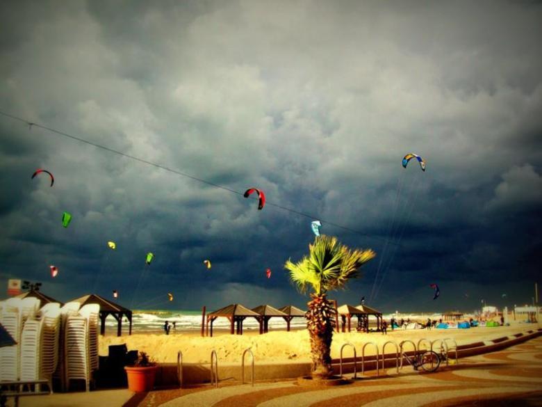 Tel_aviv_Israel_Stanito_Beach_Storm_