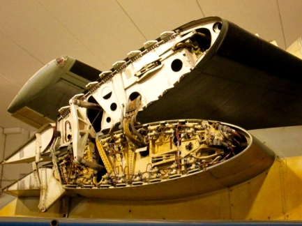 Same here, equally impressed with the dissected wing of a Grumman S2F-1 Tracker.
