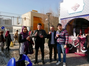 People in Iran and their famous friendlyness